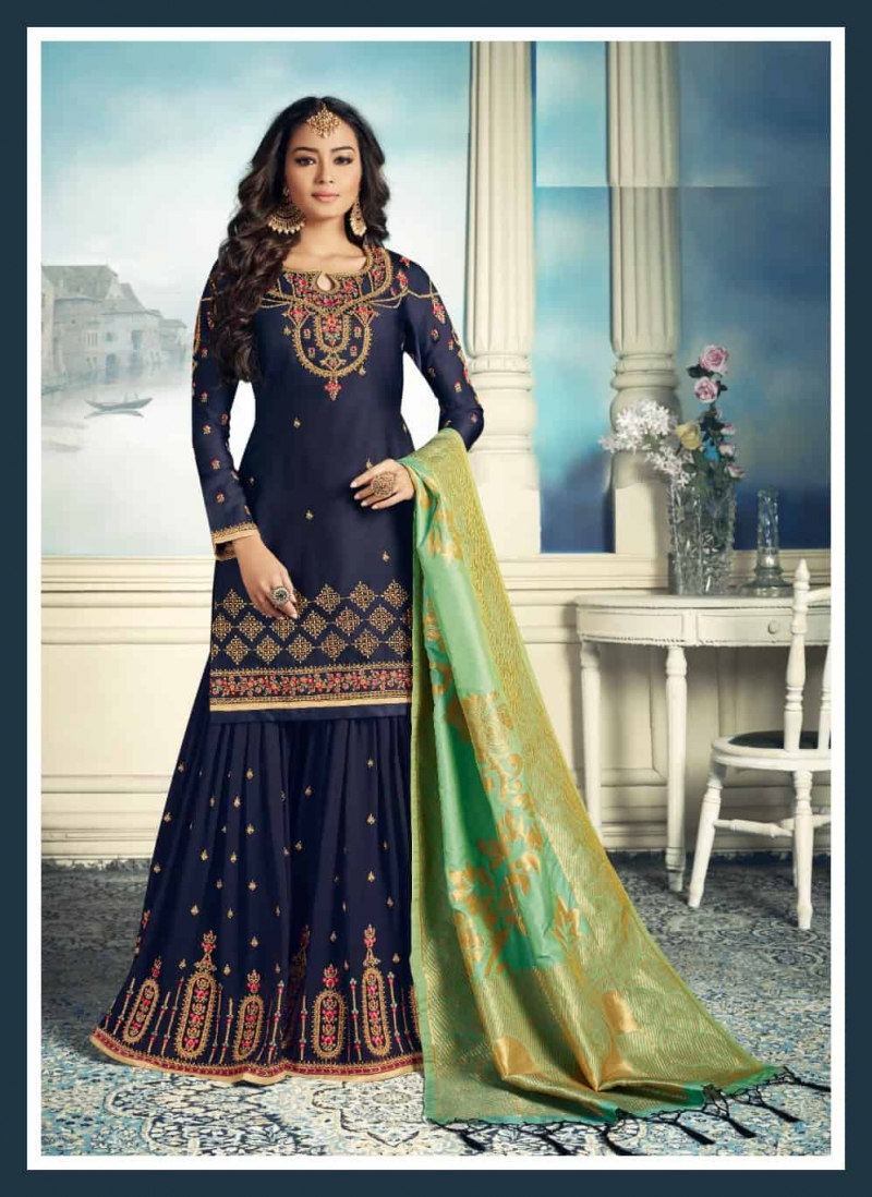 Banarsi Sharara Dress