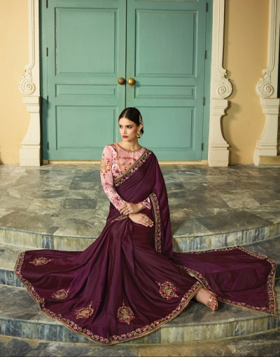 Designer-Indian-Saree-Dress
