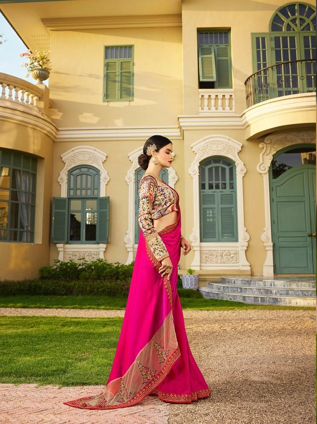 Designer-Indian-Saree-Dress