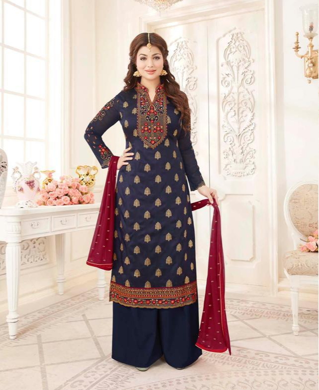 Banarsi-Jacquard-dress