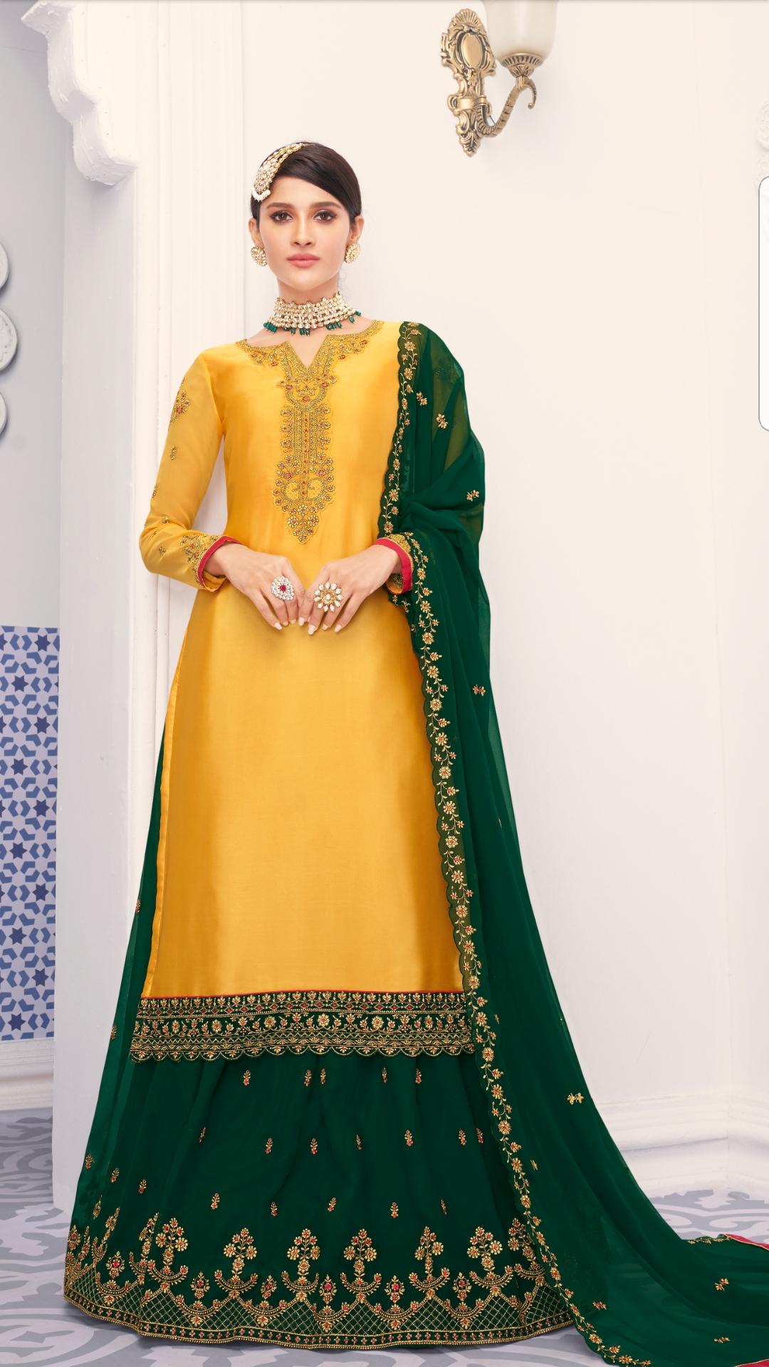 Gharara Suit 5118 - Womens clothing Shop