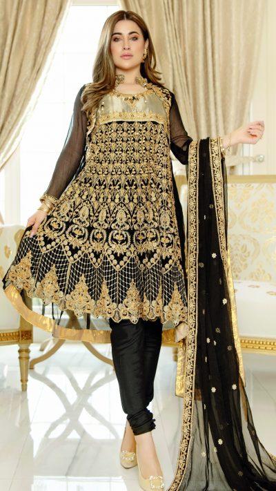Luxury-chiffon-occasion-dress